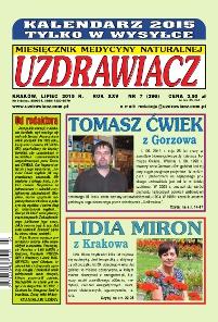 Uzdrawiacz - miesięcznik - prenumerata półroczna już od 5,00 zł